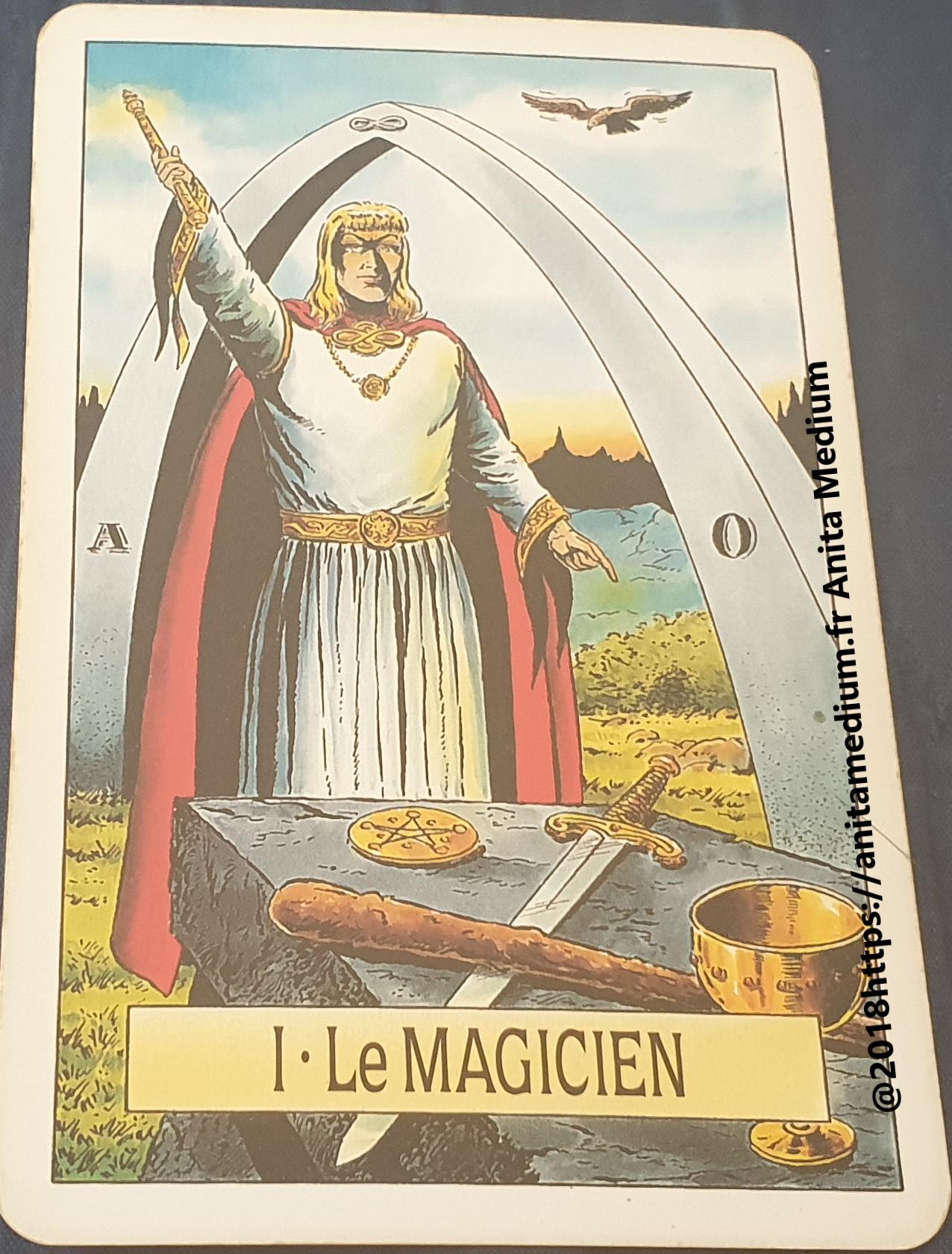 Le Magicien des tarots nous parlent