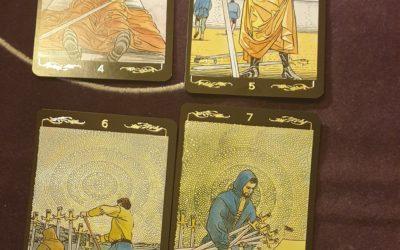 Tirage avec le Golden Universal Tarot